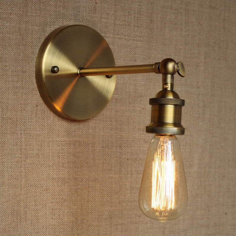 loft lamp discount lighting antique gold metal wall lampindustrial style adjust wall lamp for affordable bathroom lighting