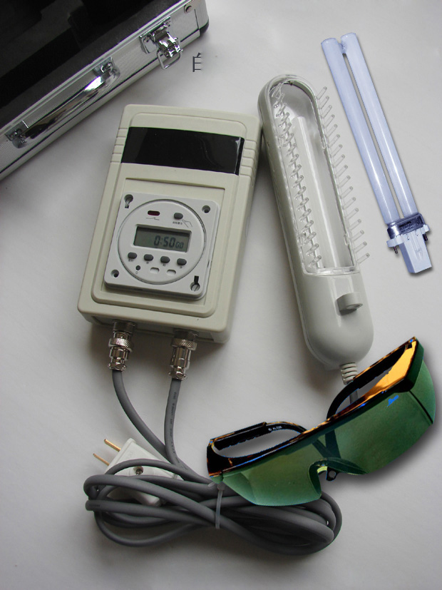 New Intelligent Timer+Light Therapy Comb Handheld UVB phototherapy UVB 311NM NARROW BAND PL-S 9W/01/2p For Psoriasis