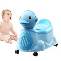 Baby Potty Portable Cute Cartoon Duck Baby Toilet Seat Kids Pot Girls Boy Trainer Children S