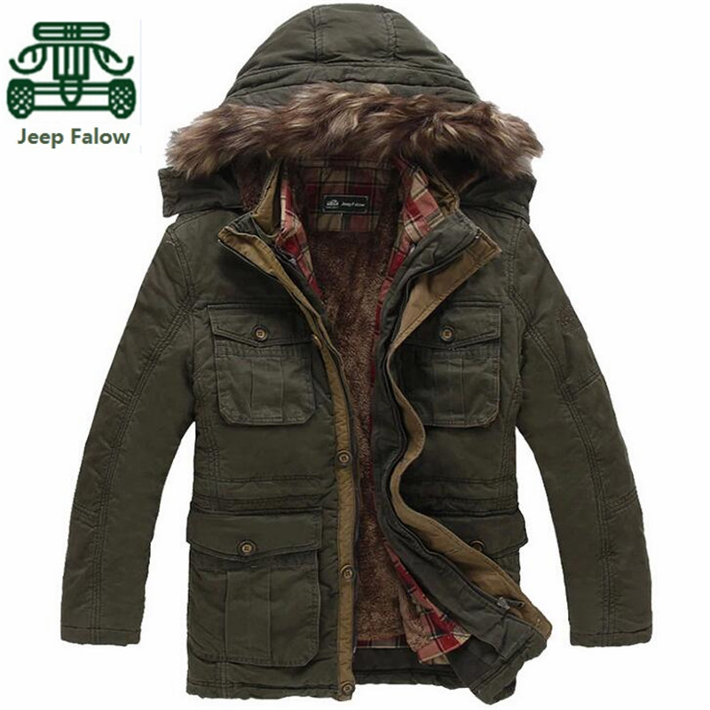 AFS JEEP Falow Detachable Cashmere Plaid Inner Winter Thick Brand Coat,Men's Cargo Motorcycle Long Coats,3xl/4xl/5xl Plus Size diy 48v 1000w samsung cell electric bike lithium battery 48v 30ah li ion 18650 battery with 30a bms for e bike battery