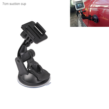 Go pro Accessories 7cm Car Windshield Glass Suction Cup for GoPros 7 6 5 4 3 Sj4000 SJ8PRO SJ9 Yi 4K H8 H9R OSMO Action Camera