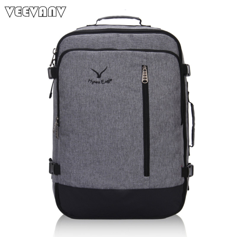 VEEVANV New Business Men's Backpacks Fashion Laptop School Backpack Travel Large Luggage for A Business Trip Cloth Shoulder Bags
