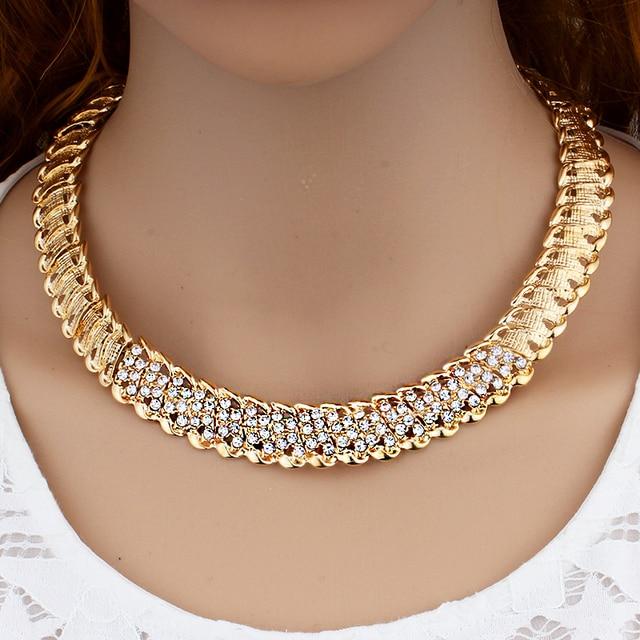 «Joias de casamento africanas dubai, conjunto de joias cor dourada romântica, conjuntos de joias de design de cor, colar com envio rápido 2