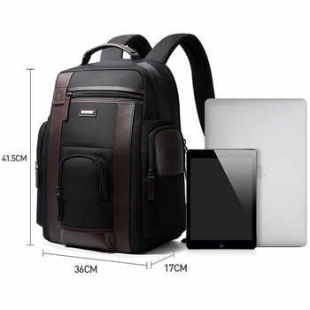 BOPAI Multifunction USB charging Men 17 inch Laptop Backpacks For Teenager Fashion Male Mochila Black Travel backpack anti thief