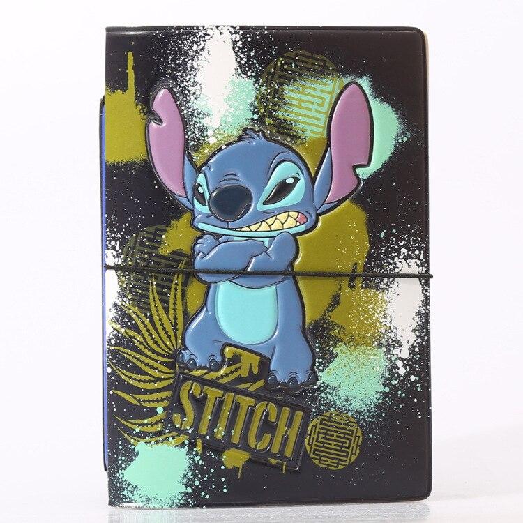 Hot Overseas travel accessories passport cover, luggage accessories passport card-Lilo & Stitch