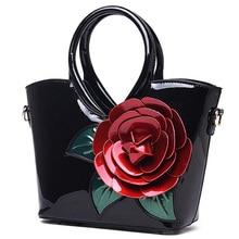 Messenger Bag for Women Famous Brand Designer Women s Handbags Vintage Flower Leather Luxury Bags for