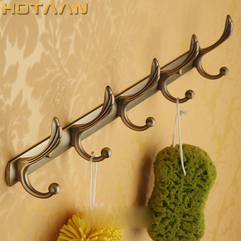 Free Shipping Robe Hook,Clothes Hook, Antique Brass Finish,Bathroom Hardware Product Robe Hooks,Bathroom Accessories-YT-3002