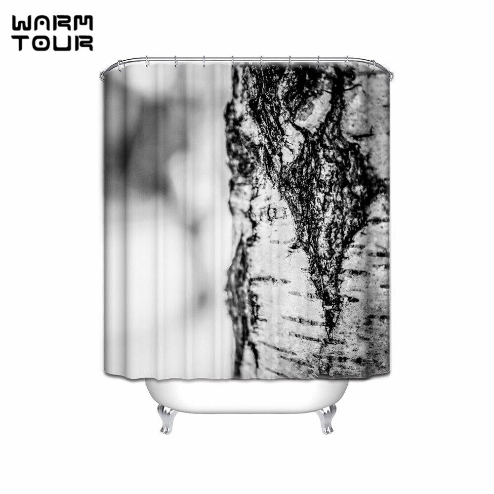 Birch tree shower curtains - The Summer Solstice Birch Forest Shower Curtain Tree Bird For Bathroom Decor Fabric Waterproof Mildew Bath