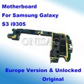 Placa madre para i9305 original y desbloqueado para samsung galaxy s3 motherboard placa lógica mainboard versión de la ue con fichas completas