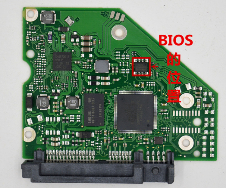 PCB 100724095 REV A for Seagate Desktop ST1000GB ST3000GB PCB HDD/logic board