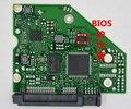 PCB 100724095 REV A para Seagate Escritorio ST1000GB ST3000GB HDD PCB/tablero de lógica