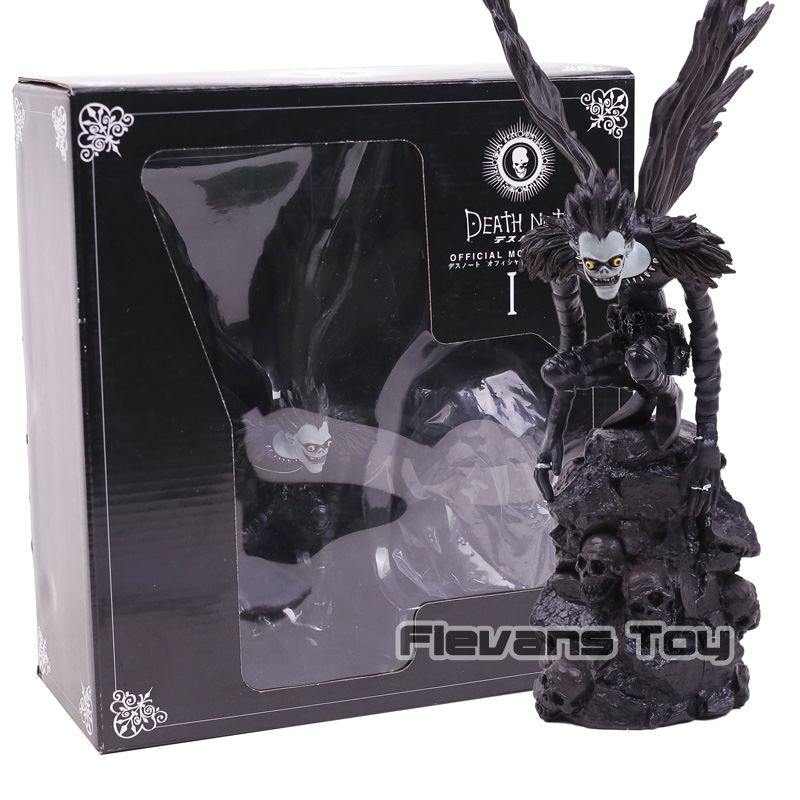 Death Note Figurines Official Movie Guide Ryuuku PVC Deathnote Ryuk Action Figure Collection Model Toy 1pcs 30mm od x 26mm x 1000mm 1m 100% roll 3k carbon fiber tube tubing pipe shaft wing tube quadcopter arm hexrcopter 30 26
