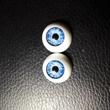 6Pairs(12 Pcs) Wholesale Dolls Eyeball Accessories High Quality 12MM Acrylic Doll Eyes Reborn Mix Colors Half Round Eyes Toys