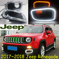 2017 2018 year,Renegade daytime light;Free ship!LED,Renegade fog light;cherokee,wagoneer,Liberty,patriot,commander,TJ,Compass