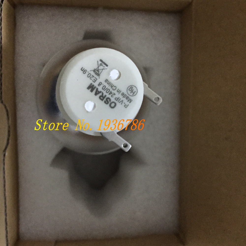 Original Bare Bulb OSRAM P-VIP 240 Projector Lamp 5J.J9P05.001 for BENQ MX666 / MX666+ Projectors original bare projector lamp bulb osram p vip 280 0 9 e20 8 for wd620u xd600u fd630u vlt xd600lp