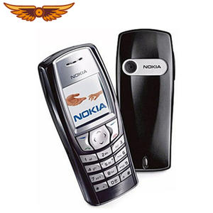 Nokia 6610 Old Cheap GSM Refurbished Cell-Phone Keyboard Unlocked Without Camera Original