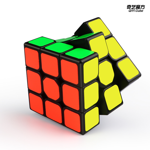 New QiYi Sail W 3x3x3 Speed Magic Cube Black Professional Puzzle Cubes Educational Toys For Children 3