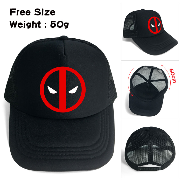 De adultos Marvel deadpool sombrero de béisbol Snapback ajustar ... a5c42e9b635
