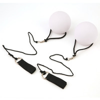 1 Piece Professional Belly Dance Balls LED RGB POI Thrown Balls Belly Dancing Level Hand Props