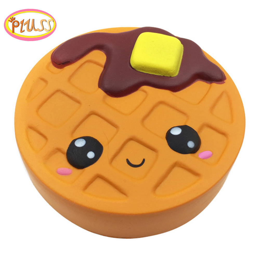 Squishies Chocolate Biscuits Cake Squeeze Toy Antistress Soft Cute Waffle Healing Funny Squishy Slow Rising For Kids Adults