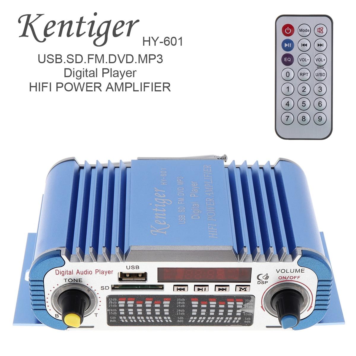HY601 2 Kanäle Hallo-fi Mini Digitale Motorrad Auto Auto Stereo Power Verstärker Sound Modus Audio Musik Player USB FM für auto Hause