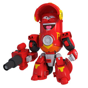 Image 5 - High Quality ABS Fun Larva Transformation Toys Action Figures Deformation Car Mode and Mecha Mode for Birthday Gift