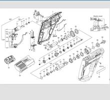 Teile Links/Rechts Gehäuse 50027483 50028856 für WORX WU390 WX390 WX390.1 WX390.31 WU390.9 WX390.9 20V H3 QN147Y12