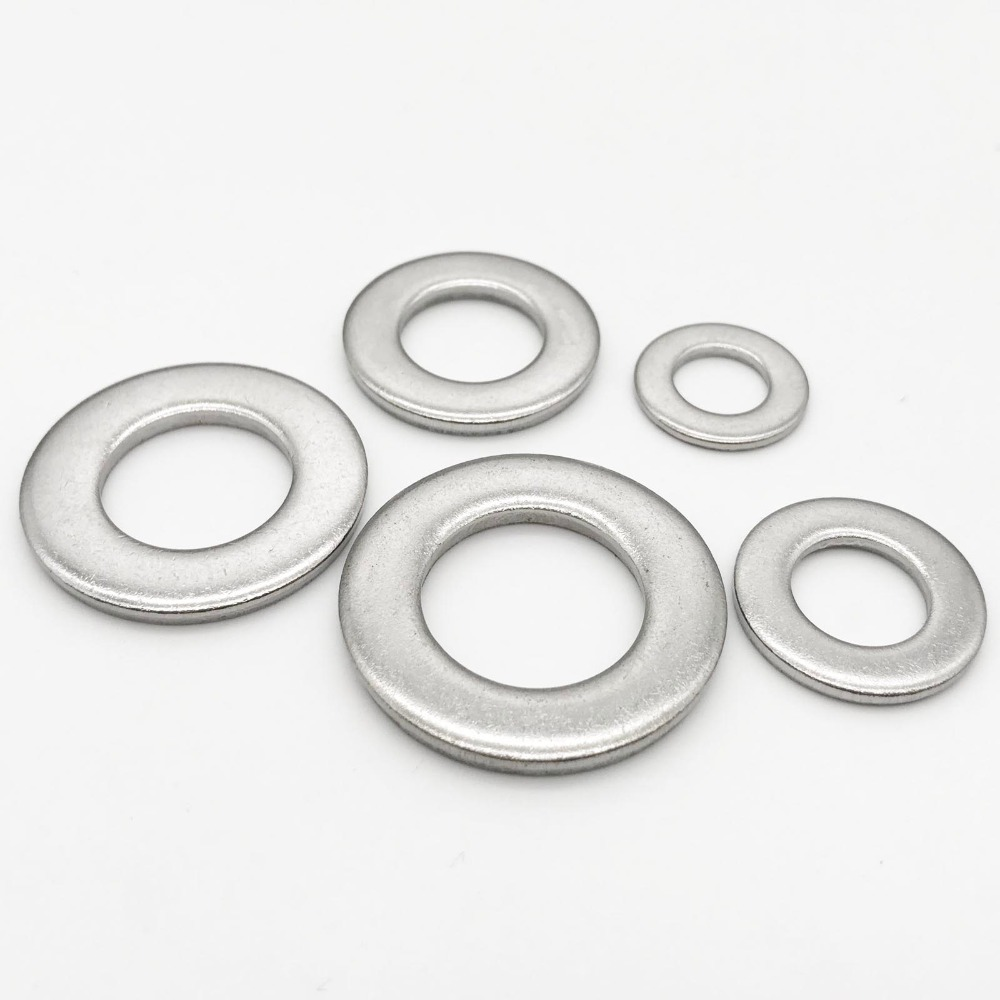 Bolt Base A2 Stainless Steel Flat Form A Washers M2-100