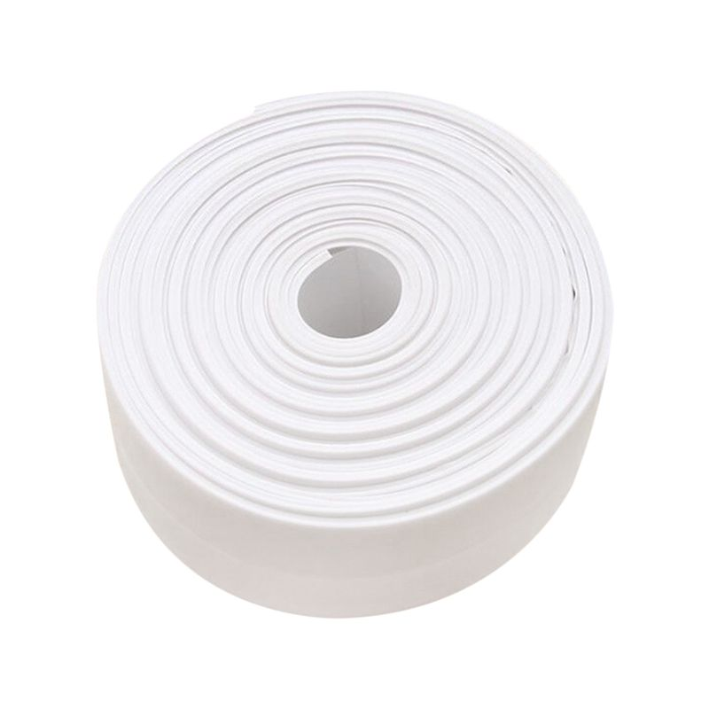 Caulk Strip, Bathroom Caulk Strips, Self Adhesive Tub Caulk Strip Wall Sealing Tape Caulk Sealer, 1-1/2 inch x 10.5 FT (38mm x 3