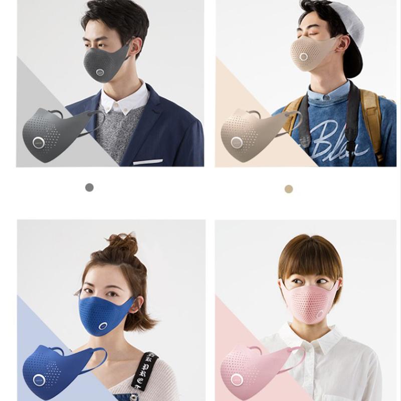 Xiaomi AirPOP Air Wear PM0.3 Anti-haze Face Mask With 4pcs Filter Adjustable Ear Hanging Comfortable Face Masks 4 Colors (4)