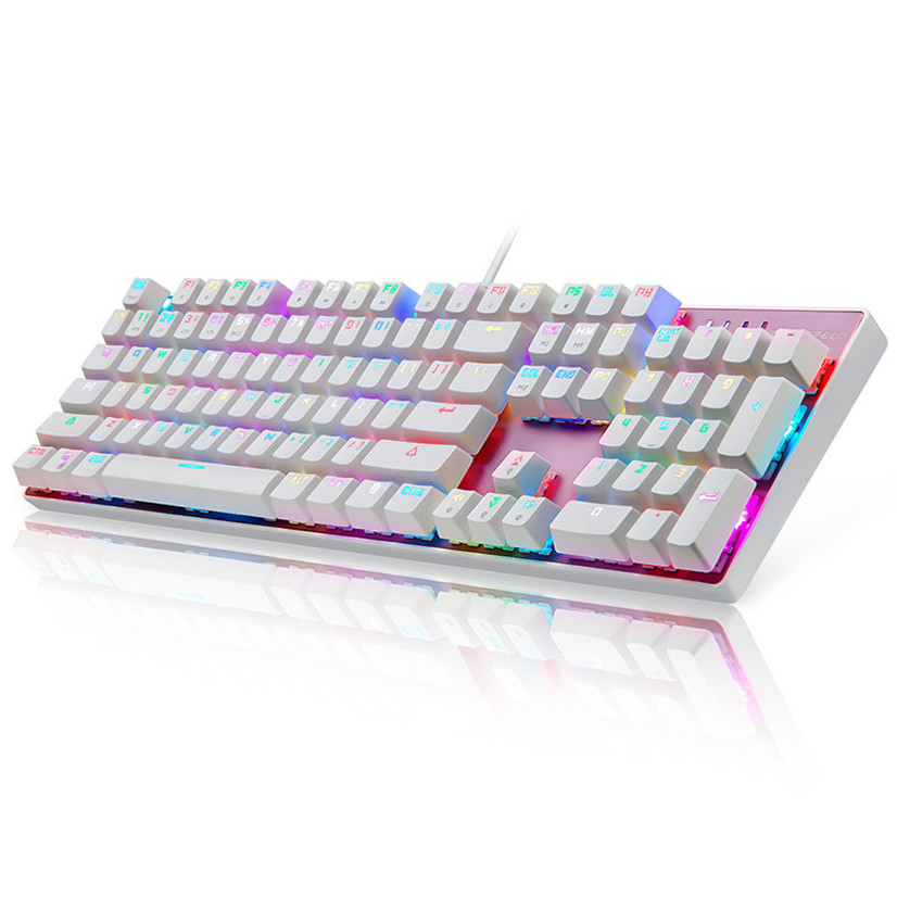 все цены на  Factory price Hiqh Quality LOL  New Motospeed Inflictor CK104 Mechanical Keyboard Switches Backlit RGB Drop Shipping Dec7  онлайн