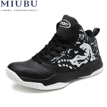 MIUBU Men Shoes 2019 New Arrivals Mesh Breathable Ultra-Light Lace-Up Sneakers Spring Comfortable Vulcanize