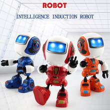 head induction lighting sound Robot Children Dancing Robot dog electronic toys birthday gift for kids electric pet rc robot(China)
