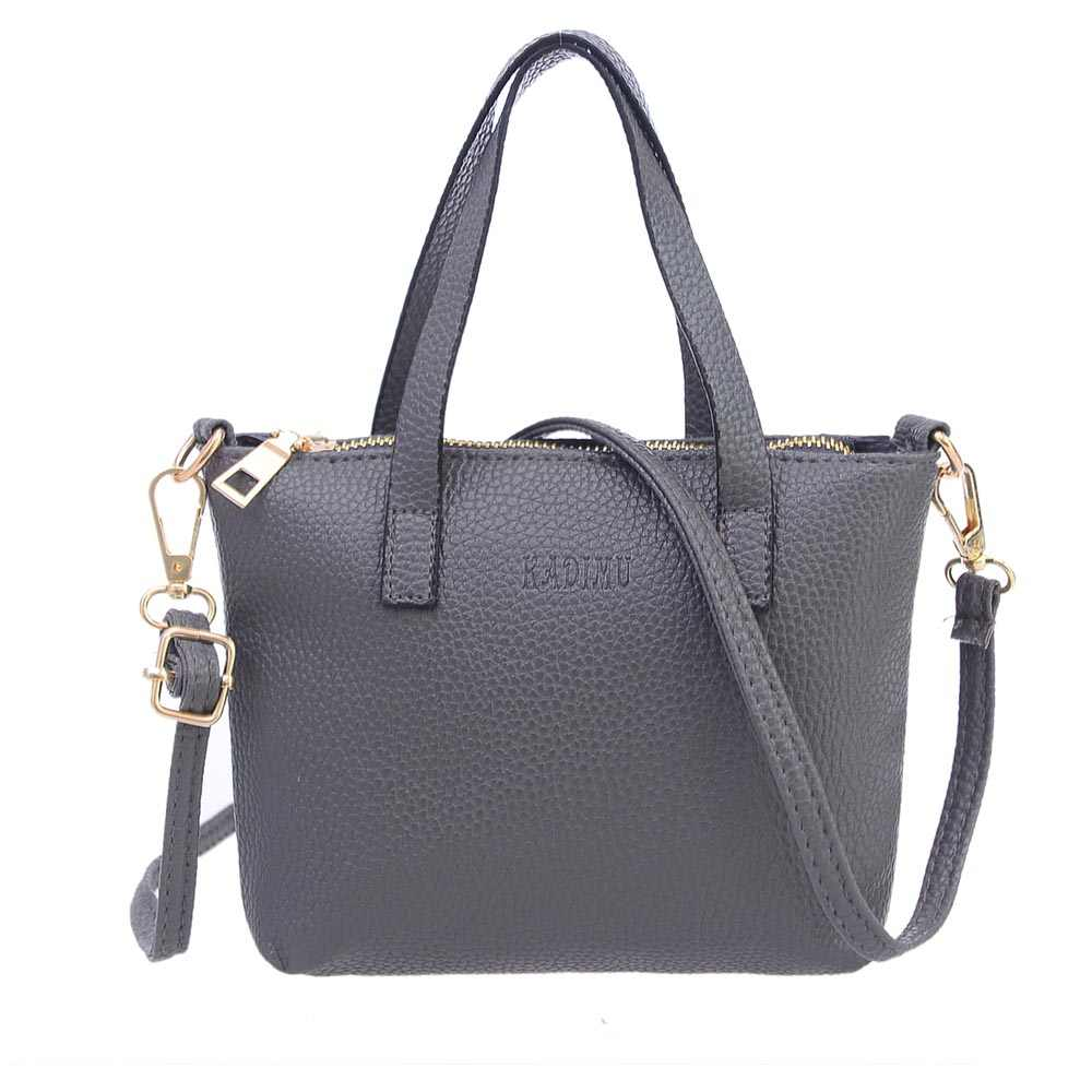 520ef938c9d0 2018 Baellerry Brand New Large Capacity Handbags Feminine Crossbody Tote Fashion  Ladies PU Leather Shoulder Bag