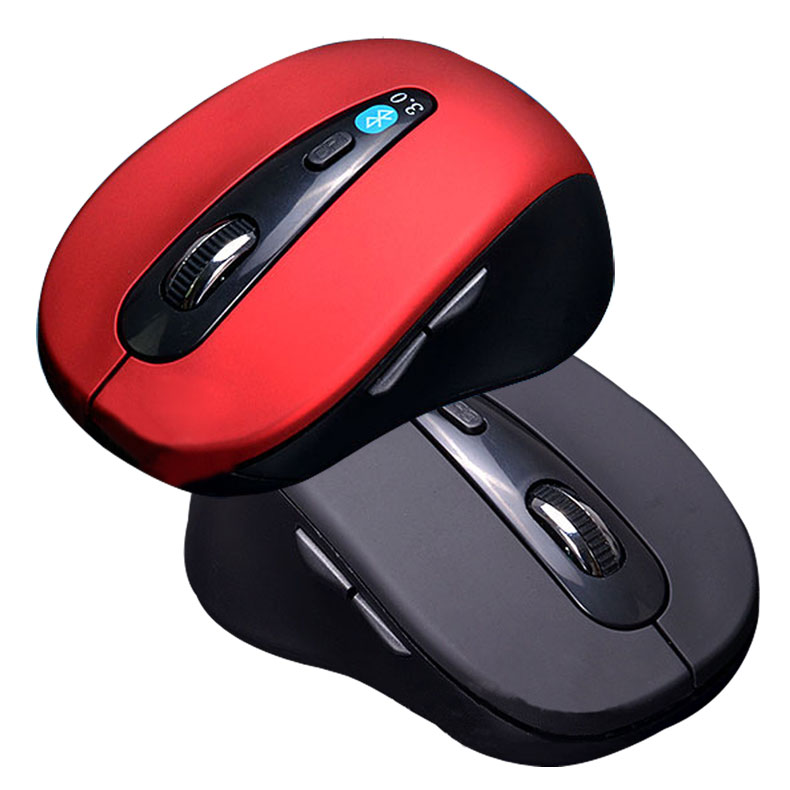 New Mini Wireless Optical Bluetooth 3.0 Mouse 1600 DPI 6D Gaming Mouse for Laptop Notebook Computer XXM e 3lue 6d mazer ii 2500 dpi blue led 2 4ghz wireless optical gaming game mouse 02