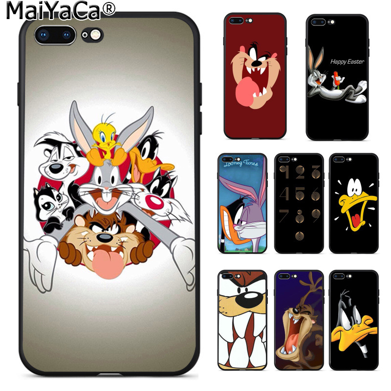 Cellphones & Telecommunications Constructive Maiyaca Looney Tunes Design Novelty Fundas Phone Case Cover For Apple Iphone 8 7 6 6s Plus X Xs Max 5 5s Se Xr Cellphones