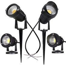 Уличный светодиодный УДАР Лампа для газона 5W 10W LED Сад Ландшафтный свет AC220V110V 12V