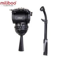 Miliboo M8 профессиональная трансляция Фильм Видео жидкости главы нагрузки 15 кг треножный Штатив для тяжелых условий работы Камера стенд с 100 мм