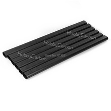 HCT076 wholesale price 6pcs 20x30x500mm 100% carbon fiber flat tube