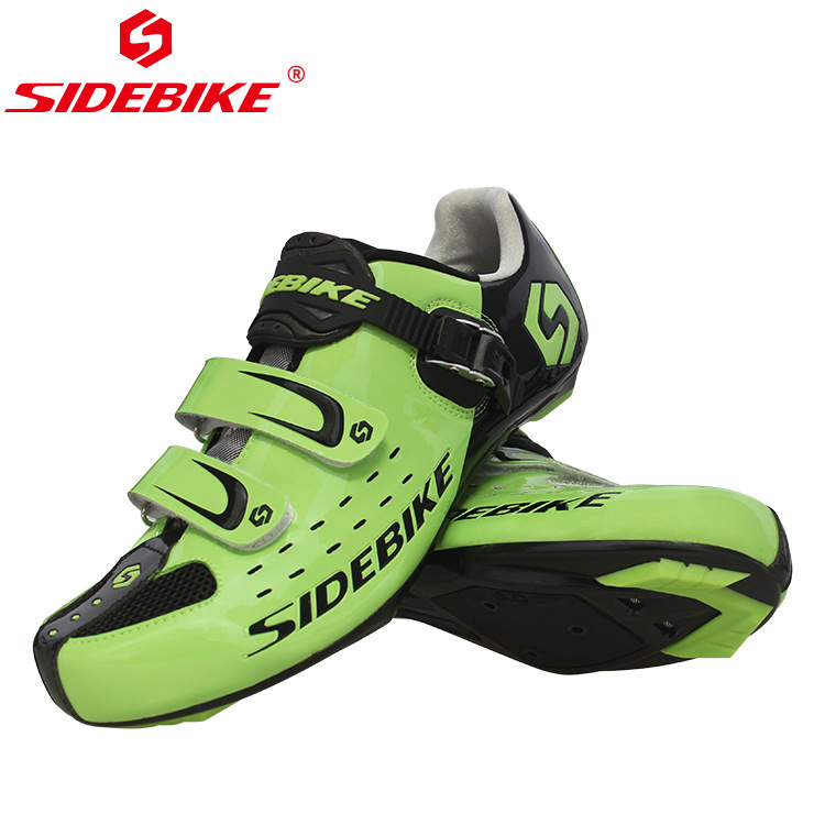 SIDEBIKE Cycling Shoes 2018 Sapatilha Ciclismo Men Sneakers Women Road Bike Bicycle Racing Athletic Shoes Zapatillas De Ciclismo sidebike mens road cycling shoes breathable road bicycle bike shoes black green 4 color self locking zapatillas ciclismo 2016