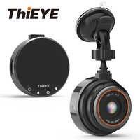 Cámara para salpicadero de coche ThiEYE Safeel Zero Real 1080P 170 gran angular DVR para coche con g-sensor Monitor de aparcamiento cámara con grabadora para coche