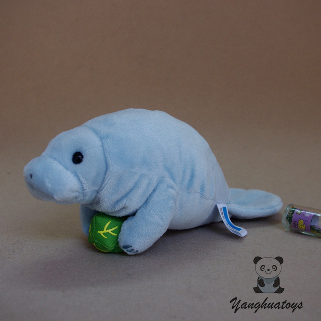 Super Soft Plush Manatee Doll Toy Real Life Animals Dugong Dolls Baby Birthday Gifts Toys Stores