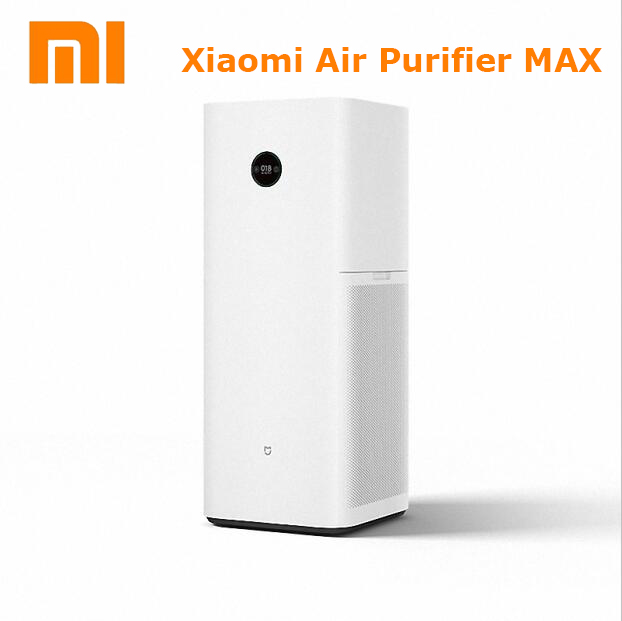 Newest Original Xiaomi Air purifier Max professional CADR upto 1000m3/h| OLED displayer, app controlled 28-64dB drop shipping original xiaomi mijia air purifier pro oled display screen laser particle sensor 500m3 h particulate matter cadr for 60m3