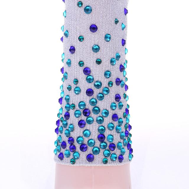 7 Colors.Women Glitter Colorful Rhinestones Socks.Gold Sliver Shiny Ankle Socks.Casual Ladies Bright Retro Sox Sock Female Meias