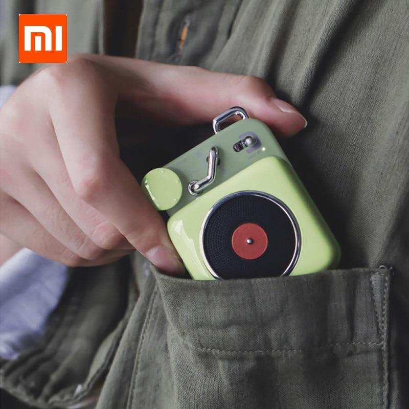 Ijverig Nieuwe Xiaomi Cat Koning Atomic Mini Platenspeler B612 Bluetooth Intelligente Audio Draagbare Zink Aluminium Shell Speaker In Voorraad D5 Exquise (On) Vakmanschap