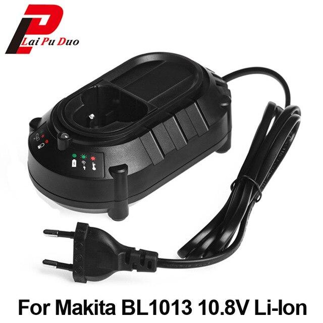 Vellidte Replacement Battery Charger For Makita BL1013 BL1014 10.8V/12V Li GF-17