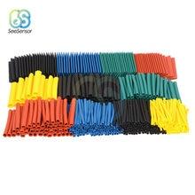 530pcs 328pcs 140pcs 127pcs Thermal contra Sleeve cable Heat Shrink Tube termoretractil pvc tube tubing 2:1 Wrap Wire Cable