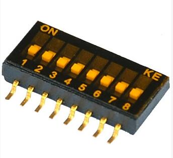 Electronic Components & Supplies Dshp08tsger 8 Wei 1.27mm 16 Pin 8 Dip Switch Gear 16-pin Smd Dip Switch Neither Too Hard Nor Too Soft