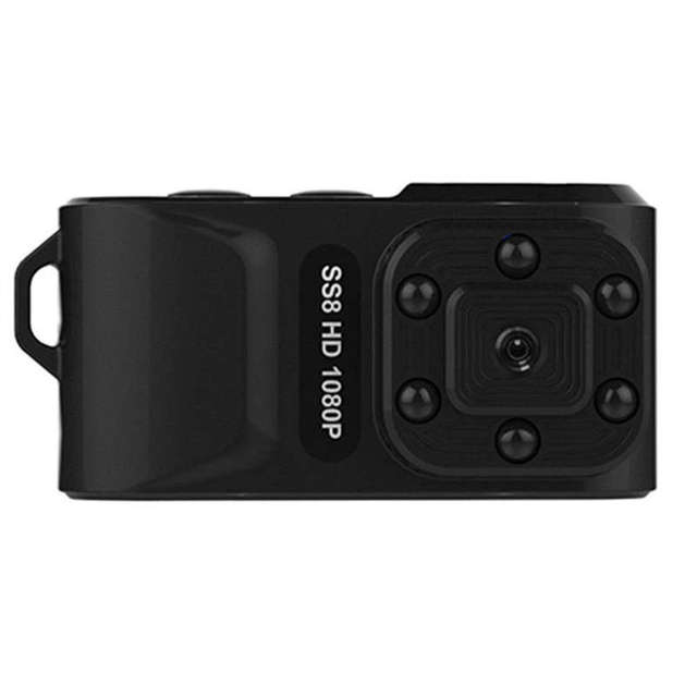 SS8 Mini Pro Hd 1080p Ca r Dvr الحركة الأشعة تحت الحمراء الأشعة تحت الحمراء مصغرة الرياضة كاميرا الفيديو الرقمية على نطاق واسع