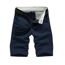 HOT 2019 Summer Cotton tactical Tooling Multi pocket Solid bermudas masculina Cargo Desert Jungle short trousers Men